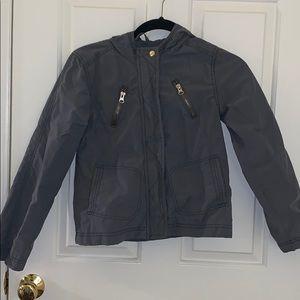 Old Navy dark gray jacket w/ hood